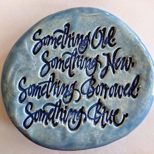 SOMETHING BLUE Pocket Stone - Bluebonnet