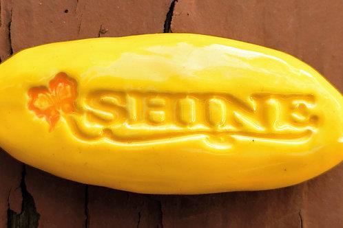 SHINE Pocket Stone - Sun Yellow