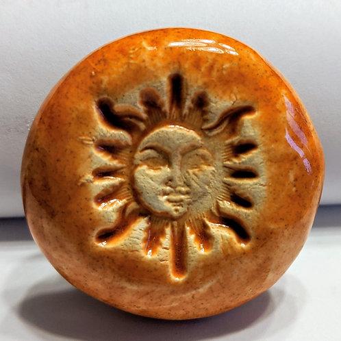 SUN FACE Magnet - Tuscan Sun