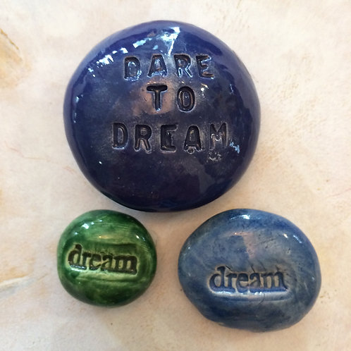 DARE to DREAM COLLECTION Pocket Stones