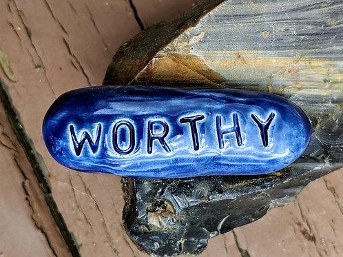 WORTHY Pocket Stone - Midnight Blue