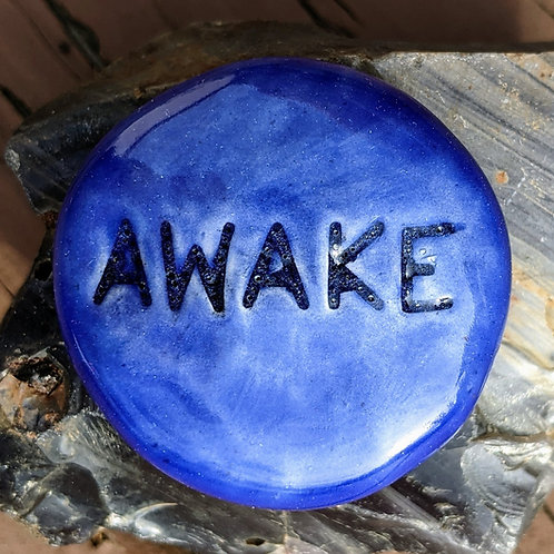 AWAKE Pocket Stone - Vivid Blue