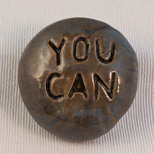 YOU CAN Pocket Stone - Antique Blue