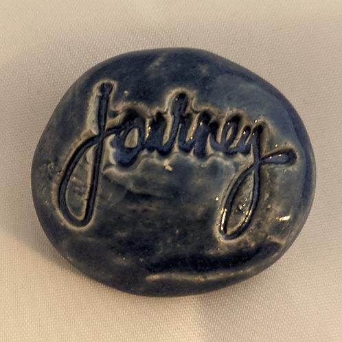 JOURNEY Pocket Stone - Blue