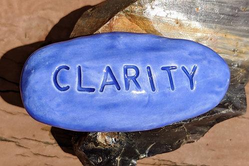 CLARITY Pocket Stone - Vivid Blue