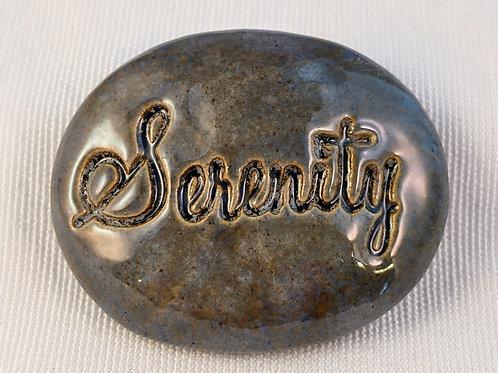 SERENITY Pocket Stone - Antique Blue