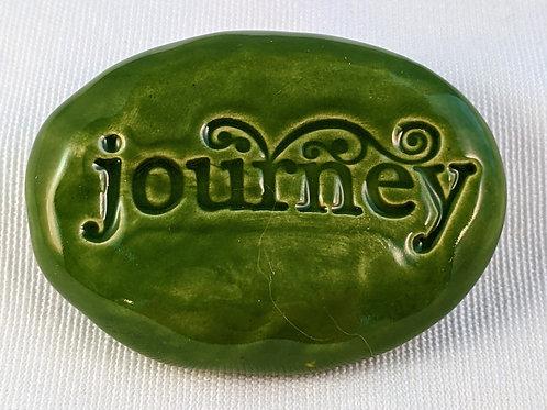 JOURNEY Pocket Stone - Emerald Green