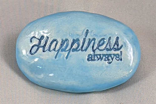 HAPPINESS ALWAYS! Pocket Stone - Sky Blue