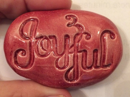 JOYFUL Pocket Stone - Sirocco Red