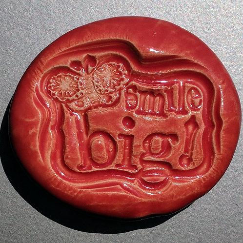 SMILE BIG! Magnet - Sunset Red