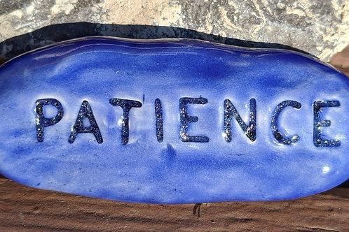 PATIENCE Pocket Stone - Vivid Blue
