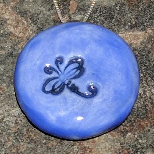 DRAGONFLY Pendant ~ Medium Blue