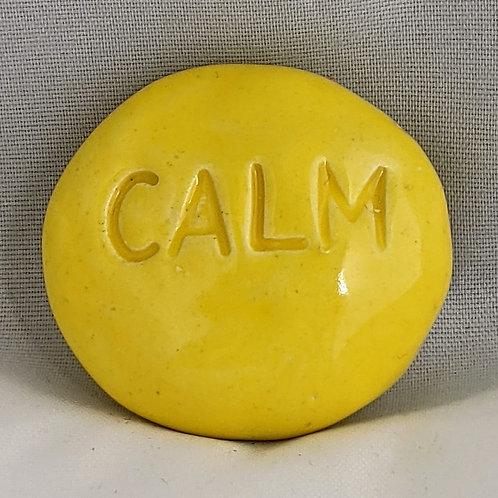CALM Pocket Stone - Lemon Yellow