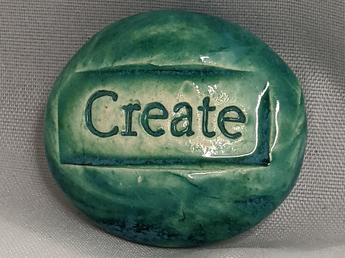CREATE Pocket Stone - Aquamarine