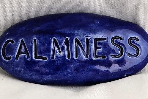 CALMNESS Pocket Stone - Midnight Blue