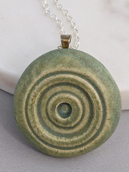 CIRCLES Pendant/Necklace - Old Copper