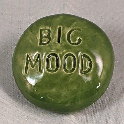 BIG MOOD Pocket Stone - Emerald Green