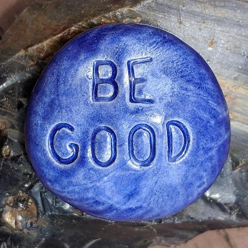 BE GOOD Pocket Stone - Exotic Blue