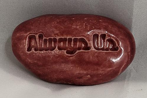 ALWAYS US Pocket Stone - Cherry Red