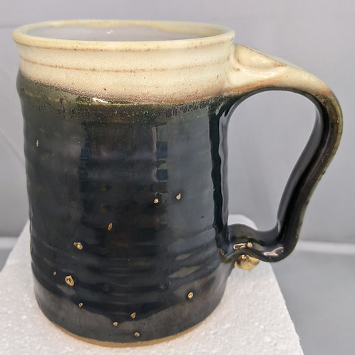 STONEWARE MUG by TC Pottery Studio - Watercolor Green