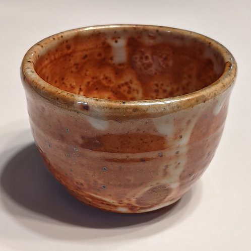 STONEWARE SMALL BOWL by TC Pottery Studio - Shino