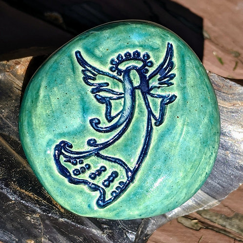 ANGEL Pocket Stone - Aquamarine