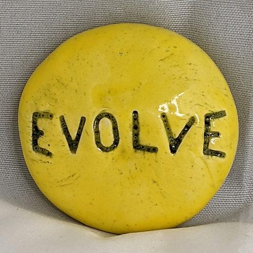 EVOLVE Pocket Stone - Lemon Yellow