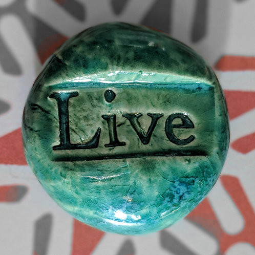 LIVE Pocket Stone - Aquamarine
