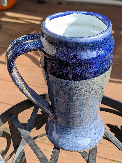 BEER TANKARD by TC Pottery Studio - Stormy Blue