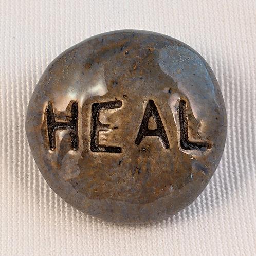 HEAL Pocket Stone - Antique Blue