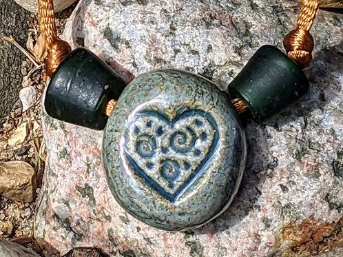 HEART Necklace - Waterfall