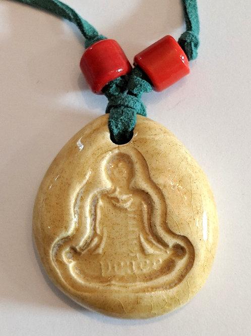 INNER PEACE YOGA Necklace - Art Glaze