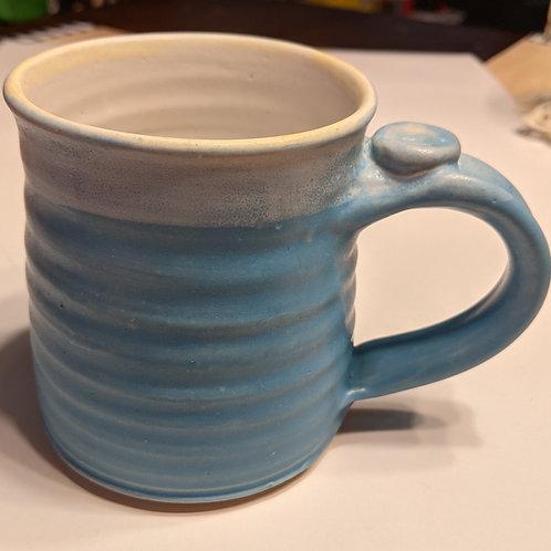 STONEWARE MUG by TC Pottery Studio - Light Blue Satin Matte