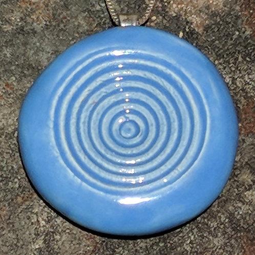 CIRCLES Pendant - Bluebonnet