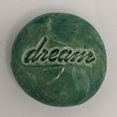 DREAM Pocket Stone - Aquamarine