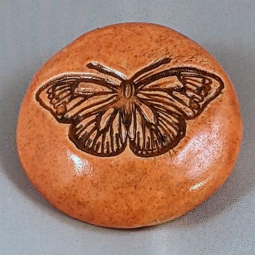 BUTTERFLY Pocket Stone - Tuscan Sun