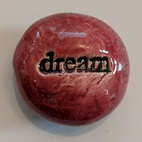 DREAM Pocket Stone - Sirocco Red