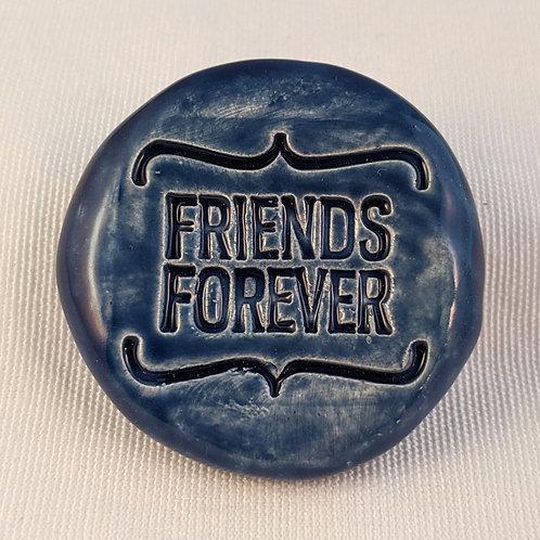 FRIENDS FOREVER Pocket Stone - Midnight Blue