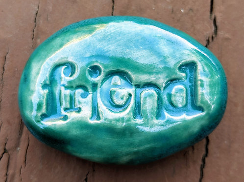 FRIEND Pocket Stone - Turquoise