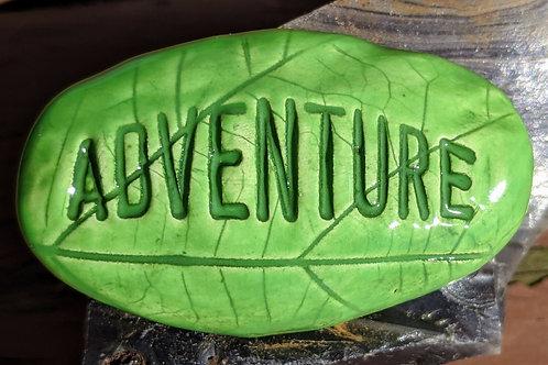 ADVENTURE Pocket Stone - Leaf Green
