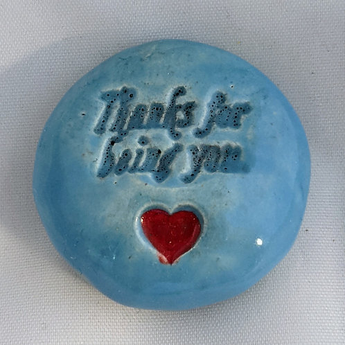 THANKS FOR BEING YOU Pocket Stone - Sky Blue