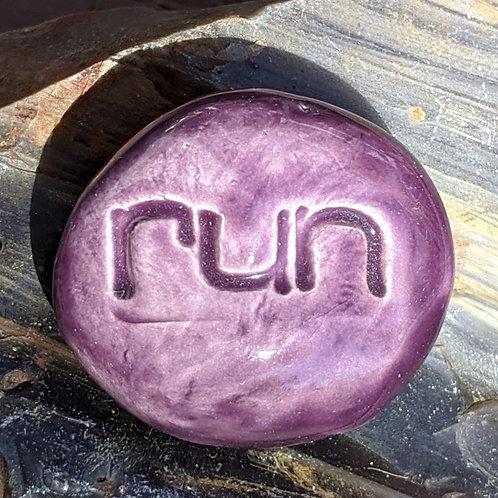 RUN Pocket Stone - Purple