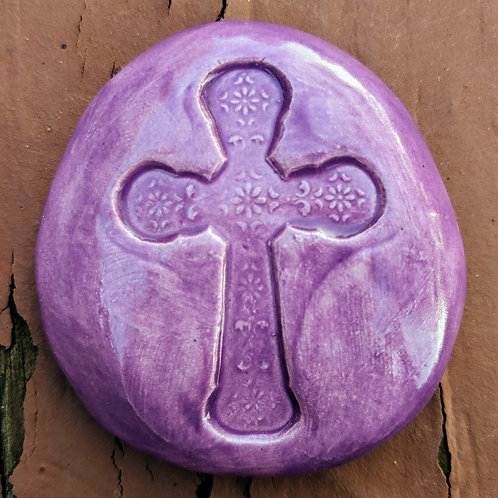 CROSS Pocket Stone - Amethyst Purple