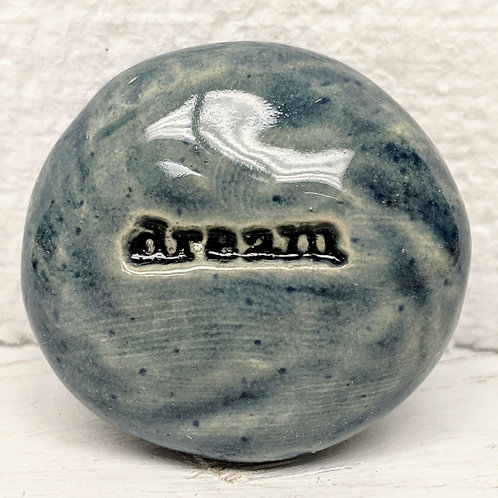 DREAM Pocket Stone - Denim Blue