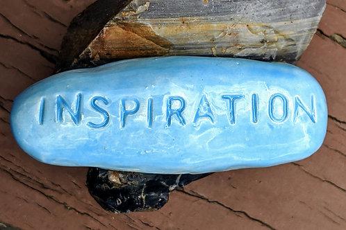 INSPIRATION Pocket Stone - Sky Blue
