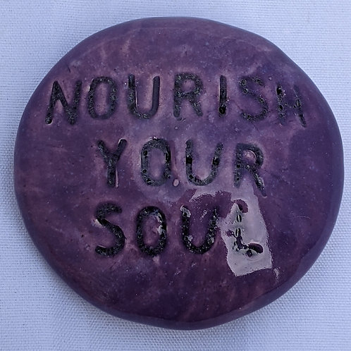 NOURISH YOUR SOUL Pocket Stone - Tanzanite