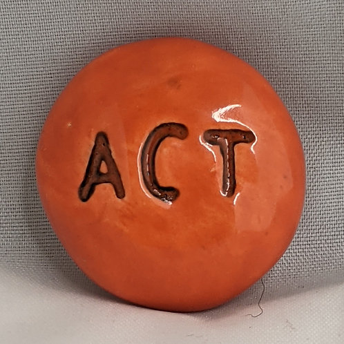 ACT Pocket Stone - Pumpkin Orange