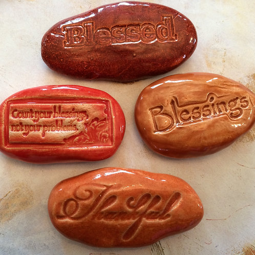 BLESSED Pocket Stones