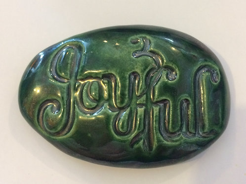 JOYFUL Pocket Stone - Bottle Green