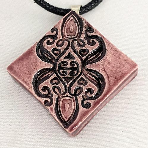 BOHEMIAN Pendant / Necklace - Purple